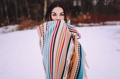 A made-in-America pure virgin wool throw blanket with a fusion of Spanish and Navajo-inspired motifs to honor the textile traditions of the Southwest. Made In America, Navajo, Spanish, Textiles, Pure Products, Traditional, Wool, Blanket, Inspired