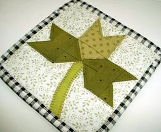 FREE Shamrock Coaster via Craftsy