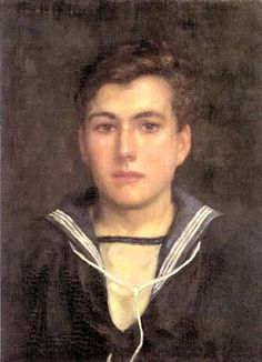 """Sailor Boy"" by Henry Scott Tuke, 1924"