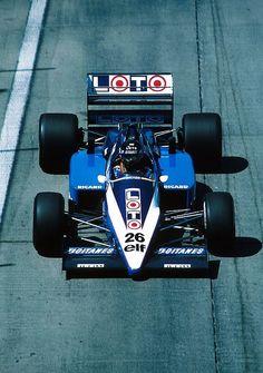 Jacques Laffite  Ligier - Renault 1986