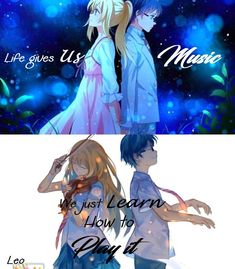 We Just Learn How To play It.. Your Lie in April