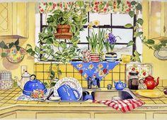 Gwendolyn Babbitt_ Дом, кухня