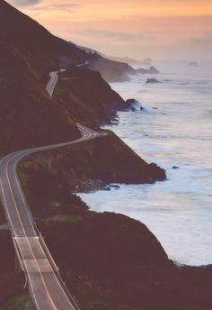 California coastal highway.