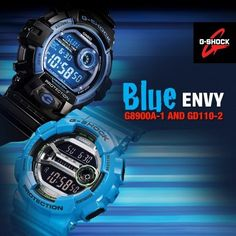 Blue Envy #GShock