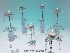Manualidades y Artesanías | Candeleros con caireles | Utilisima.com