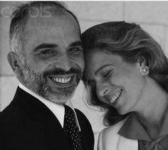 Queen Noor & King Hussein