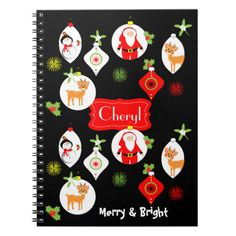 Such a cute Christmas graphic with Santa, reindeer, snowmen and baubles, very merry and bright. #christmas-themed #festive #merry-and-bright #cute #cute-pictures #santa #reindeer #snowmen #snowman #baubles #fun #happy #cheerful #christmas-graphics