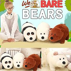 $60 on amazon.  ANY We Bare Bears stuff is good. He loves them right now. There are more options on etsy, as well.  New TV Show We Bare Bears Plush Toy Doll 3pcs 10inches Ki... https://www.amazon.com/dp/B01IAKPZ74/ref=cm_sw_r_pi_dp_x_u1b3xbW93Q2NQ