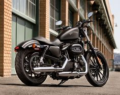 Harley-Davidson Sportster Iron 883  starting @ $8,000  Weighing 573.2 pounds, it gets 51 mpg.