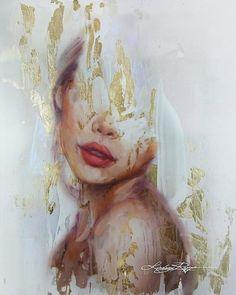 Golden State Of Mind Kunstdruck von Lindsay Rapp. Unsere Drucke werden auf … p… Golden State Of Mind Art Print by Lindsay Rapp. Our prints are produced on … Creation Art, Art And Illustration, Fine Art, Aesthetic Art, Art Sketchbook, Portrait Art, Art Inspo, Painting & Drawing, Amazing Art