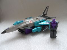 POWERMASTER DREADWIND - G1 Vintage Transformers Decepticon F-16 Fighter Jet