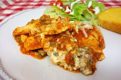 No-Boil Ravioli Lasagna ~ Quick and Easy! Great weeknight dinner that everyone will enjoy.