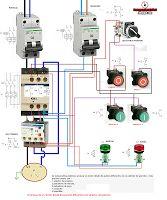 Esquemas eléctricos: Arranque de un motor desde dos puntos diferentes c...