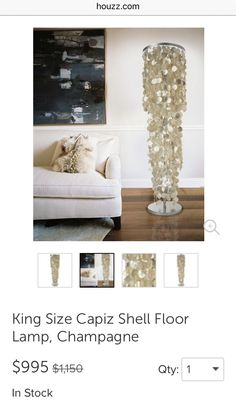 Floor lamp from houzz loft inspiration pinterest floor floor lamp from houzz loft inspiration pinterest floor lamps floors and lamps aloadofball Image collections