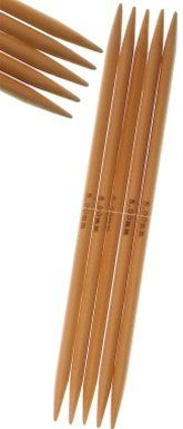 Size 8 50mm 6 Inch Double Point StitchBerry Brand Bamboo Knitting Needles 5ct Set *** Check this awesome product by going to the link at the image.Note:It is affiliate link to Amazon.