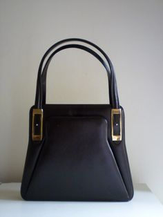 LEATHER HANDBAG '50s
