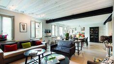 L'appartement de Muriel Robin, photographié par Propriétés de France