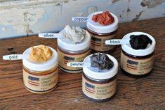 Mica Powders – super fine metallic powders  – American Paint Company #americanpaintcompany #thevintagedames #repurposed #paint #clay #beach #furniture #home #wax #finish #sealers