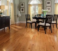 Butterscotch Oak - stained, solid, prefinished