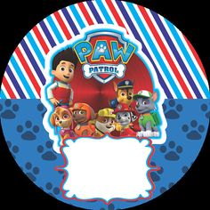 Kit imprimible PAW PATROL Paw Patrol Birthday Theme, Paw Patrol Party, Imprimibles Paw Patrol, Paw Patrol Stickers, Paw Patrol Decorations, Car Cake Tutorial, Häkelanleitung Baby, Cumple Paw Patrol, How To Make Planner