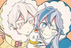 Mekakucity Actors, they are sooo cute Ene Anime, Manga Anime, Mekakucity Actors Konoha, Vocaloid, 07 Ghost, Kagerou Project, Estilo Anime, Precious Children, Happy Summer