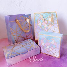 10Pcs/lot Romantic Bronzing Purple Love Starry Sky Cake Box Gift Box,Chocolate Muffin Biscuits Box for Cookie Package Gifts-in Gift Bags & Wrapping Supplies from Home & Garden on Aliexpress.com | Alibaba Group