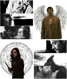 Meg and Castiel | Megstiel | Supernatural
