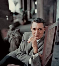 Cary Grant you handsome handsome man!