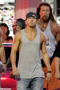 Pin for Later: Can't-Miss Celebrity Pics! Channing Tatum flaunted his tan while filming scenes for Magic Mike XXL in Savannah, GA, on Tuesday. Channing Tatum, Celebrity Gossip, Celebrity News, Magic Mike Movie, Alabama, Kevin Nash, Music Tv, Man Alive, Good Looking Men