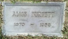 Alice Ann <i>Fleet</i> Burnett
