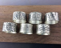 Www.jenlawlerdesigns.etsy.com New bands to be posted on my website soon