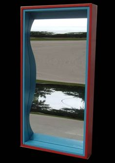 i reeeeallly want a funhouse mirror omg! or at least try to make one somehow!