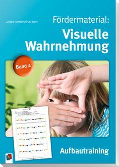 Fördermaterial: Visuelle Wahrnehmung – Band 2; Aufbautraining ++ Mit diesen Arbeitsblättern zur #Wahrnehmungsförderung können #Lehrer und Eltern die visuelle #Wahrnehmungsfähigkeit der #Schüler gezielt diagnostizieren und fördern. Die Kopiervorlagen dieses Aufbautrainings (Band 2) sind ab 8 Jahren einsetzbar und setzen die Übungen des Basistrainings (Band 1) systematisch auf höherem Niveau fort. nkl. Lösungen und Klassenübersichtsliste. #Inklusion #Schule #Wahrnehmung#Grundschule