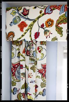 Attractive Colorful Floral Print Curtains