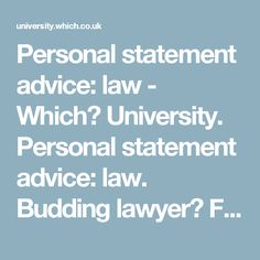 oxford university personal statement advice