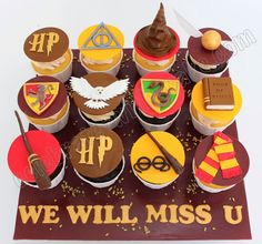 Celebrate+with+Cake!:+Harry+Potter+Cupcakes