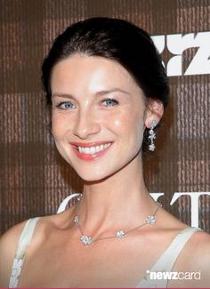 Actress Caitriona Balfe attends the 'Outlander' series screening at 92nd Street Y on July 28, 2014 in New York City.  (Photo by Jemal Countess/Getty Images) #Caitriots #Caitrionation #Outlander