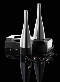 Auerhahn - Zestaw sól i pieprz - DECO Salon. modern set of salt and pepper. An interesting series of toolboxes to spice table of Auerhahn. #forhome #kitchen #herbs #spices