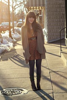 Add a belt in the winter Comfy + Casual winter wear via Selective Potential. #laylagrayce #winter #fashion