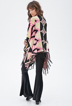 Abstract Tribal-Inspired Cardigan | FOREVER 21 - 2000117005