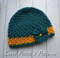 Crochet Beanie Design The 2015 Cancer Charity Hat was designed specifically for the Cancer Challenge hosted by Sweet Potato 3 Patterns. Crochet Scarf Diagram, Crochet Headband Pattern, Crochet Beanie Hat, Crochet Baby Hats, Crochet Amigurumi, Knit Crochet, Crochet Mandala, Free Crochet, Crochet Bikini
