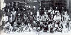 White Mountain Apache group - 1892