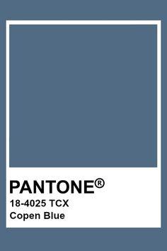 Pantone Copen Blue