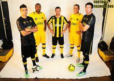Peñarol 2013 PUMA Home, Away and Third Kits