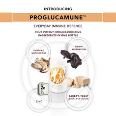 Introducing USANA's new product - USANA Proglucamune, the ultimate immune system defender. Antioxidant Supplements, Nutritional Supplements, Usana Vitamins, Bakers Yeast, True Health, Health Care, New Product, Product Introduction, Immune System