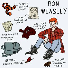 Ron Wesley based on the books Harry Potter Comics, Harry Potter Artwork, Images Harry Potter, Harry Potter Fan Art, Harry Potter World, Harry Potter Memes, Potter Facts, Weasley Sweater, Desenhos Harry Potter