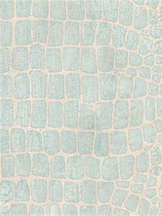 Robin's Egg Blue Snakeskin Wallpaper | Save 15% on all Patton Wallpaper at AmericanBlinds.com with code Patton15