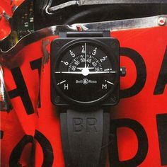 Bell & Ross BR 01 FLIGHT INSTRUMENTS: TURN COORDINATOR. Magazine Intersection  Photo: Charles Helleu.More watches here.