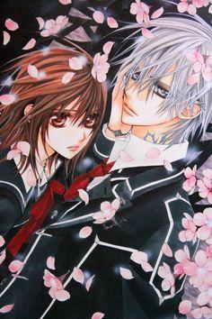 Yuki and Zero Vampire Knight Manga Anime, Manga Art, Anime Art, Vampire Knight Zero, Vampire Knight Season 3, Yuki And Zero, Dengeki Daisy Manga, Shoujo Ai, Matsuri Hino