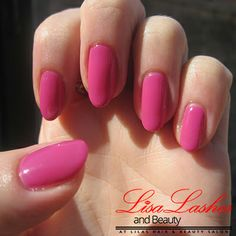 Pink Acrylic Nails in Burnley